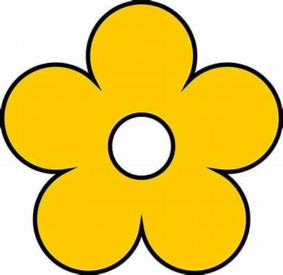 Yellow Flower Clipart Flowers Clip Cartoon Transparent