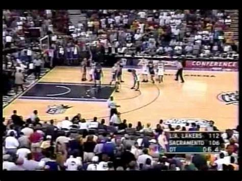wcf game  ot lakers  kings chick hearn youtube