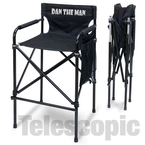 personalized directors chair imprinted personalized quot style quot aluminum