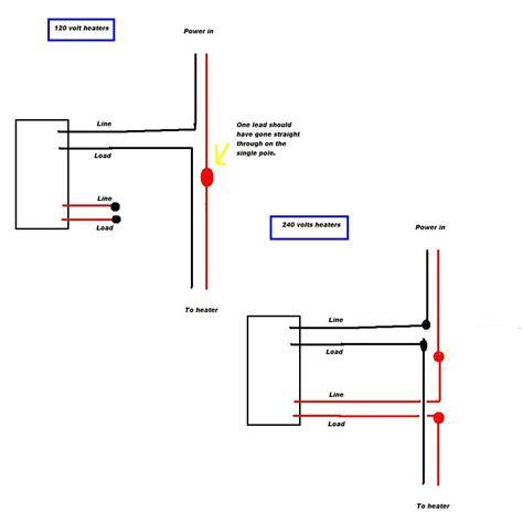 baseboard heating baseboard heating wiring