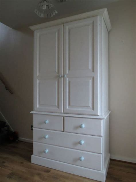 Wardrobes For Sale by White Wooden Wardrobe For Sale Ealing Broadway