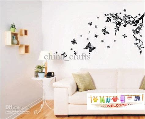 Removable Butterfly Wall Stickers Living Room Wall