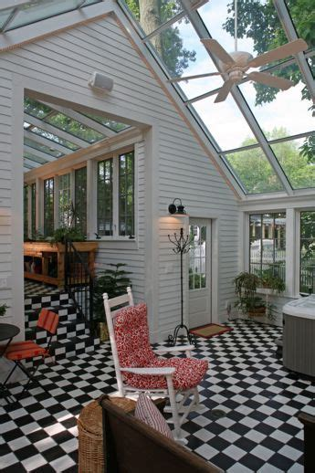 Detached Sunroom by Detached Garage With Attached Sunroom Greenhouse