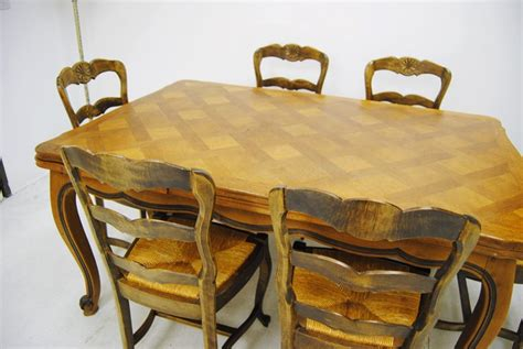route  furniture antique french provincial parquetry