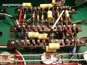 Green Military Grade Hardwire Point To Point Tube Amps By