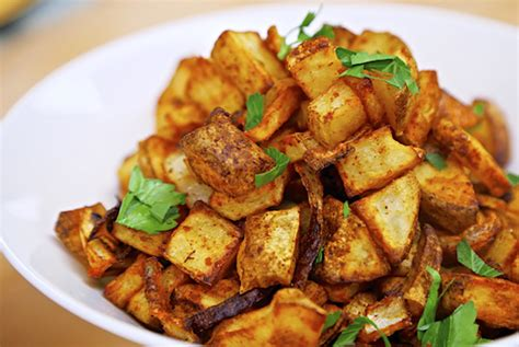 fries recipe spicy baked home fries Home