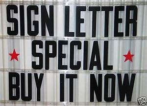 8 inch flexible outdoor portable marquee sign letters ebay With outdoor marquee letters