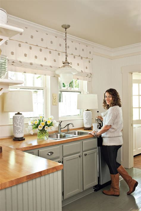 tiny cottage kitchens kitchen inspiration southern living 2838