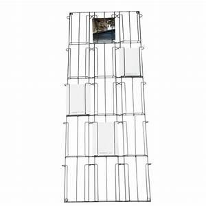 Porte Cartes Postales : porte carte mural metal h97x31cm howne ~ Teatrodelosmanantiales.com Idées de Décoration