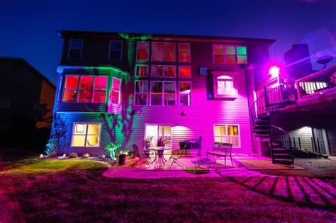 led landscape lighting color changing uplights flood l