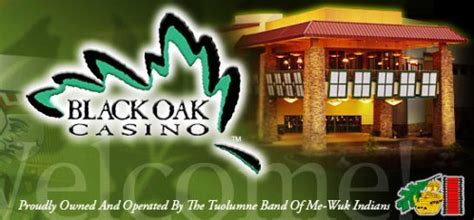 black oak casino lodging