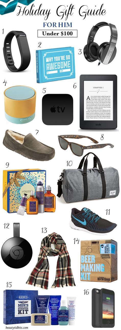 holiday gifts your man will love and actually use