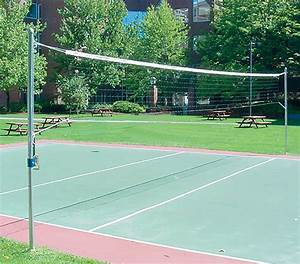 Jaypro OS-350 Outdoor Volleyball Uprights