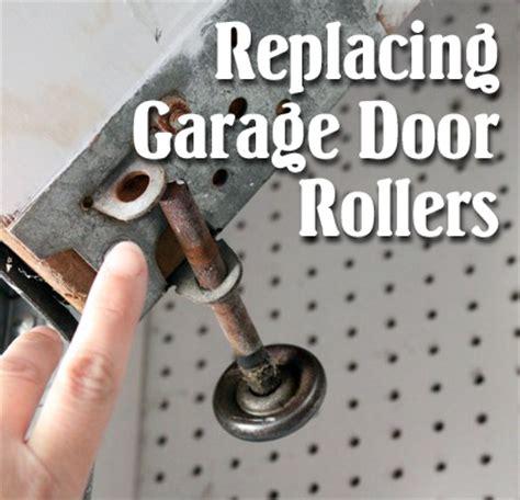 how to replace garage door how to replace garage door rollers pretty handy