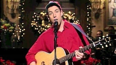 christmas movie that has adam sandler in it adam sandler quot the song quot