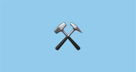 hammer  pick emoji