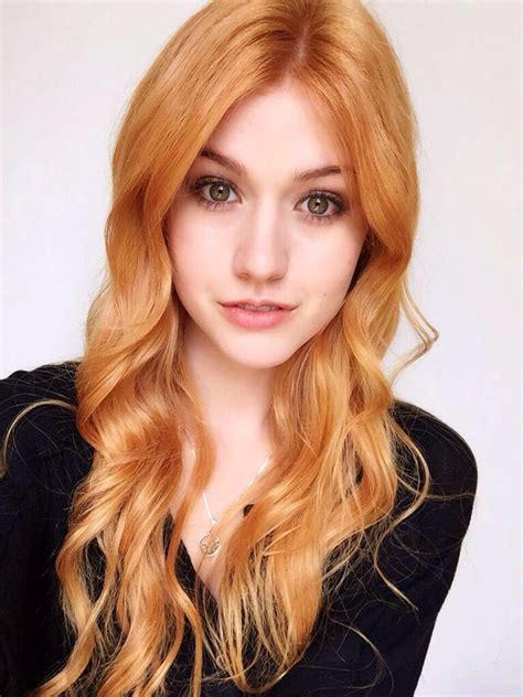Katherine Mcnamara Returns To Her Natural Red Hair Color