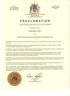 abilities  days  fasday   proclamation
