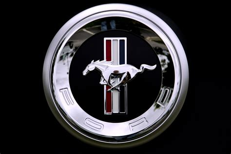 Ford Mustang Logo Wallpaper ·①