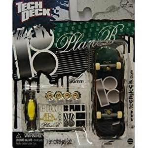 tech deck finger single board green black 18 plan b pj