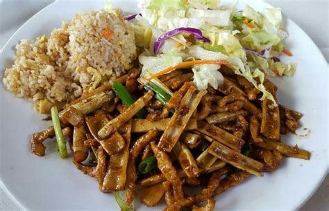 cuisine bu lunch specials pork with bamboo shoots and