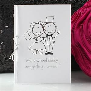 Original wedding invitation from the children for Wedding invitation wording mummy and daddy