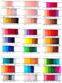 Copic Marker Color Combinations