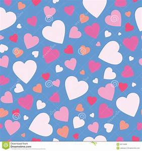 Cute hearts background stock vector. Illustration of card ...