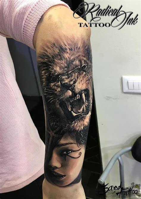 lion tattoos ideas  show strength  bravery