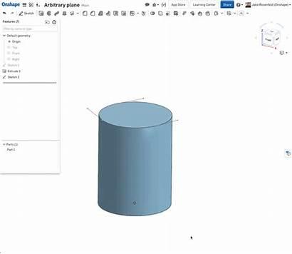 Cylinder Onshape Holes Radial Making Doc Example