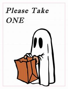 Halloween Take One Signs – Festival Collections