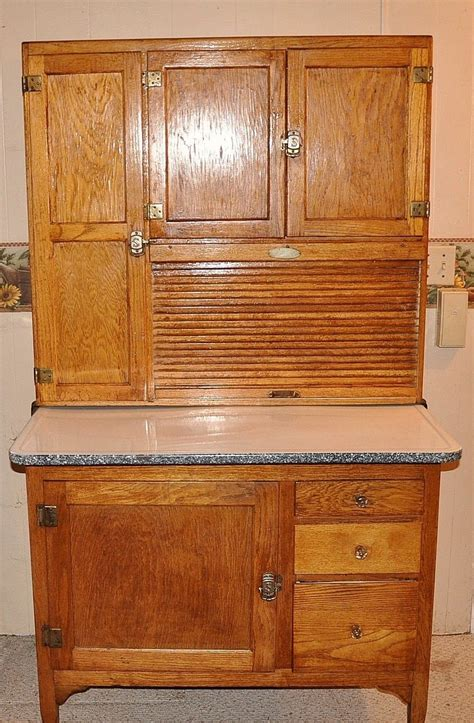 hoosier cabinet value what is the value of an antique hoosier cabinet by sellers