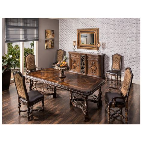 opulent extendable dining table el dorado furniture