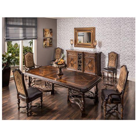 Opulent 5piece Formal Dining Set  El Dorado Furniture
