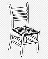 Chair Clipart Coloring Pinclipart sketch template