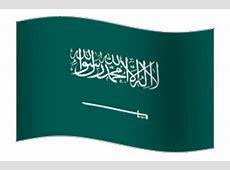 Free Animated Saudi Arabian Flags Clipart