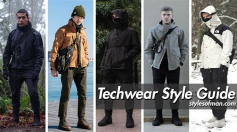 Techwear Style Guide Outfits Clothing Essentials