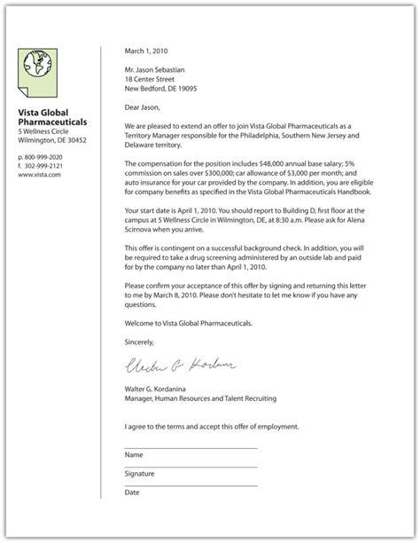 job offer letter sample offer letter templates samples and templates 22641 | Job Offer Letter Template Letter sample template pdf 793x1024