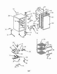 Sanyo Compact Freezer Parts