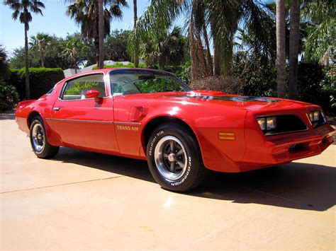 Pontiac Trans Am 66 1977  Muscle Car