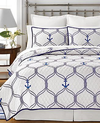 Macys Coverlets by Martha Stewart Collection Hyannis Quilts Created For Macy