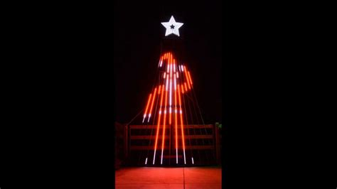 musical light show for 12 ccr tree to it s