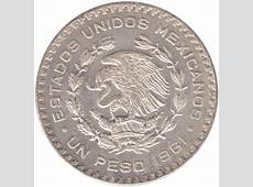 1 peso Mexique – Numista