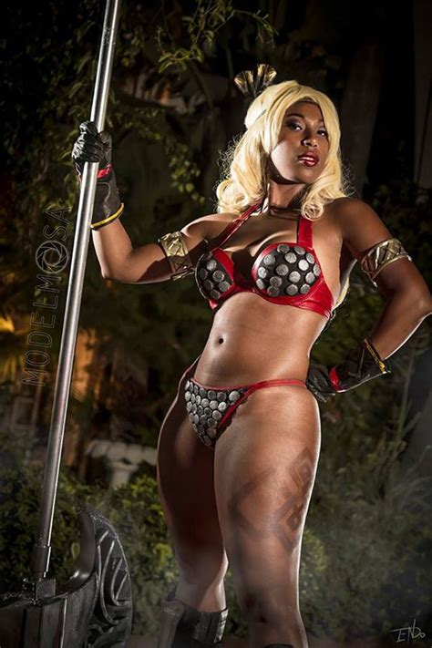fooly cooly   amazon  dragons crown cosplay