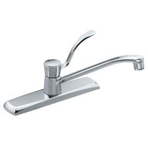 moen legend single handle kitchen faucet in chrome