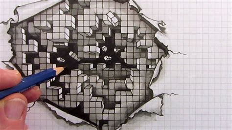 draw optical illusions templates pin by bunni biladeau on art how to exsmples