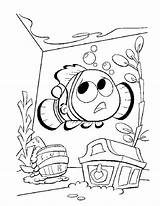 Nemo Coloring Finding Pages Bruce Printable Getcolorings Chance Last sketch template