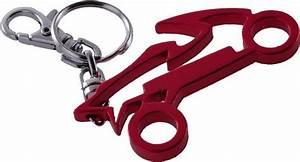Key Ring Motorbike Steel Red  Scooterpower Eu