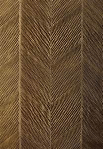 Chevron Texture in Burnished bronze wallpaper by F ...