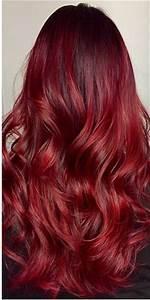 Ombré Hair Rouge : coloration rouge cerise great ntant pas du tout experte ~ Melissatoandfro.com Idées de Décoration